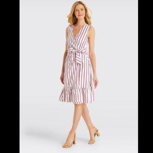 🆕Draper James Striped Wrap Dress